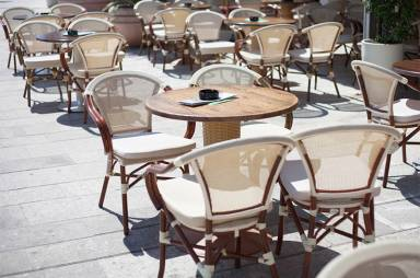 view outdoor - Outdoor Restaurant Furniture