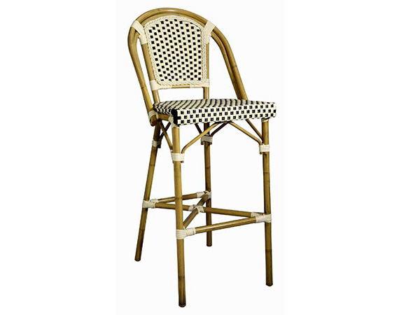 Pleasing Outdoor Bistro Bar Stool 1071Q Rsa Seating Theyellowbook Wood Chair Design Ideas Theyellowbookinfo