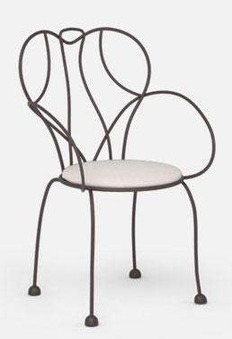 Starburst Outdoor Arm Chair