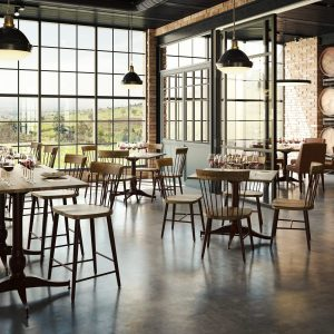 Angelina Industrial Chic Restaurant Furniture