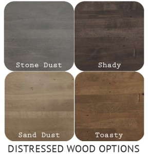 Industrial Distressed Wood Options