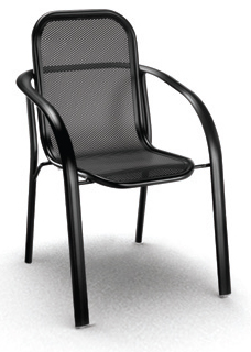 Florida Aluminum Mesh Outdoor Chair