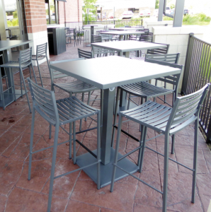 Lock Outdoor Restaurant Patio Table Ideas 2