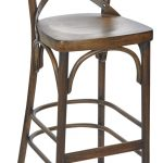 Sophie Cross Back Barstool Vintage