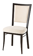 Colette Upholstered Industrial Restaurant Chair thumb